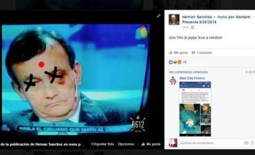 Imputaron al hermano del ladrón que mató el médico por las amenazas en Facebook