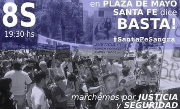 #8SangraSantaFe en reclamo de justicia y seguridad