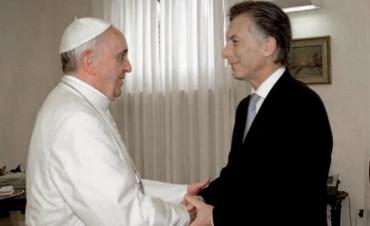 Francisco recibirá a Macri en el Vaticano a medidados de octubre