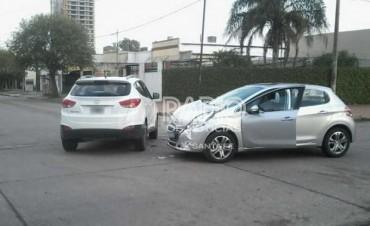 Nuevo choque en Marcial Candioti y Quintana