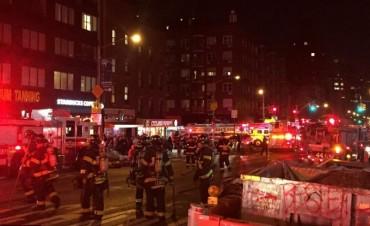 Alerta en Nueva York por una fuerte explosión