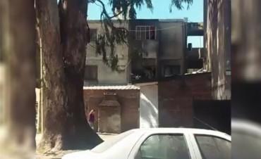 Situación edilicia complicada en Barrio Aceria