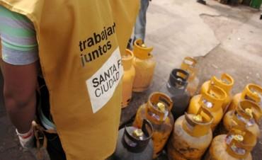 Continúa la venta de garrafas a precio diferencial en distintos puntos de la ciudad