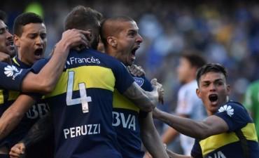 Boca goleó por 4-1 a Quilmes en la Bombonera