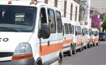Taxistas, remiseros y transportistas escolares harán sus trámites en la Oficina Virtual