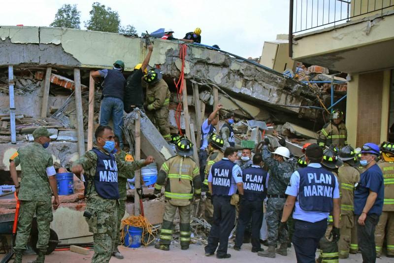 El sismo de este sábado en México generó tres muertes