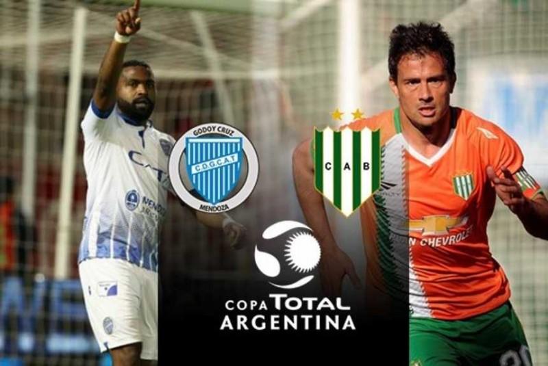 Copa Argentina: Godoy Cruz y Banfield se miden por un lugar en Cuartos