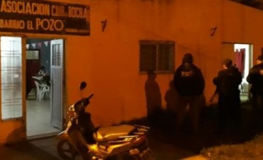 Desbarataron centro de apuestas clandestinas en barrio El Pozo