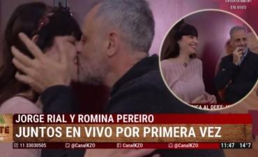 Por primera vez juntos en tevé: Rial y Romina Pereiro develan intimidades de su relación