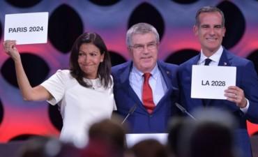 París 2024 y Los Ángeles 2028 serán las sedes de los Juegos Olímpicos