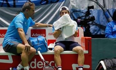 Argentina consumó su descenso en la Copa Davis