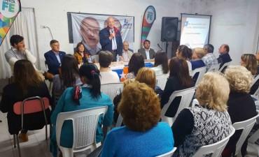 """Bonfatti: """"Contigiani es el candidato que va a defender los intereses de Santa Fe en el Congreso"""""""