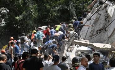 Un poderoso sismo de magnitud 7,1 sacude México