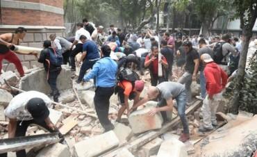 Ascienden a 217 los muertos por el terremoto en México