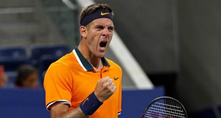 Juan Martín del Potro derrotó a Isner y está en semifinales del US Open