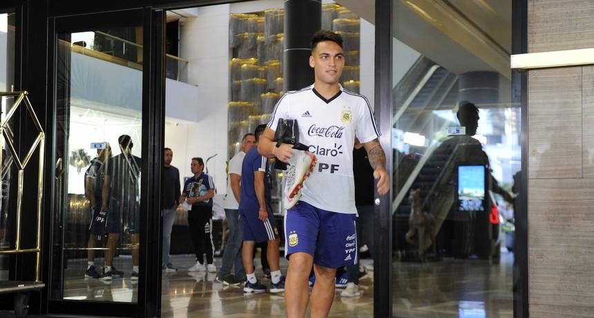 Lautaro Martínez fue desafectado de la Selección