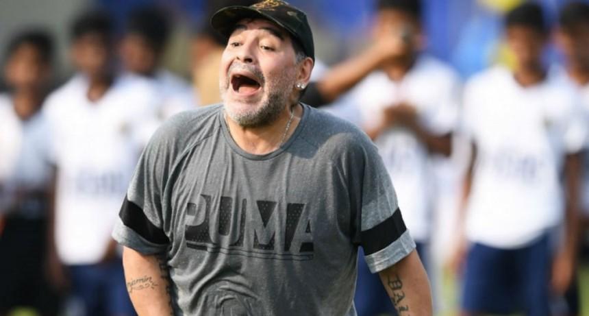 Maradona podría volver a ser DT