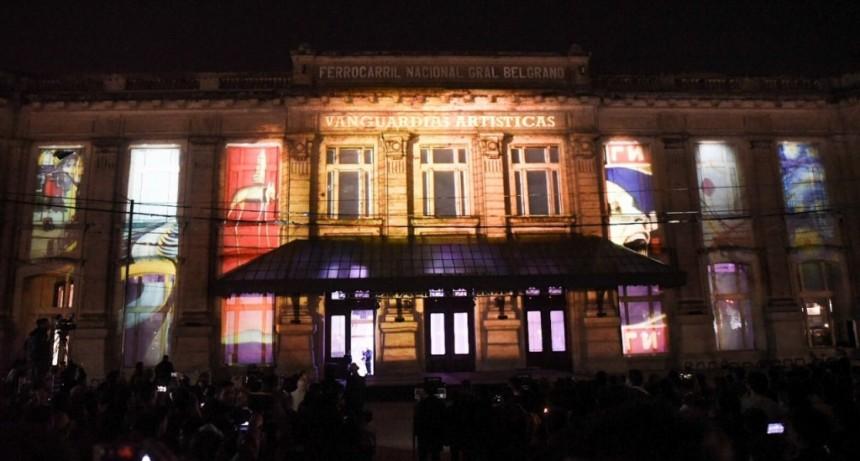 La Bienal de Arte Joven volvió a la Estación Belgrano