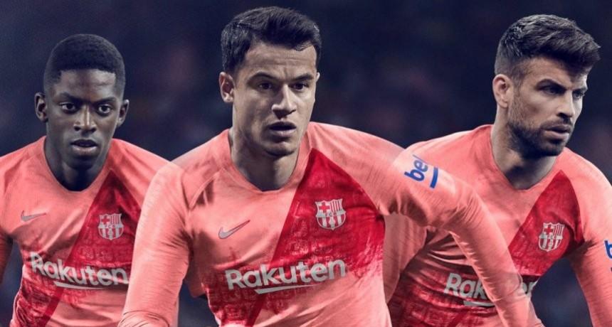 Barcelona presentó su nueva tercera camiseta