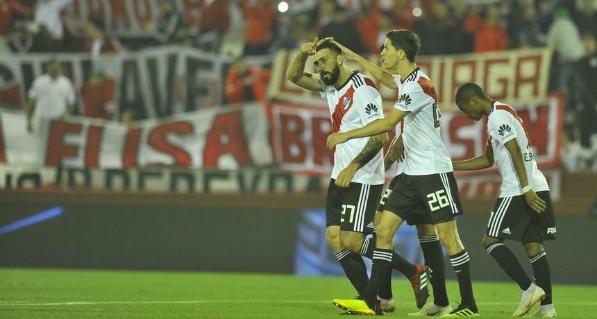 River venció a Platense y se metió en cuartos de final de la Copa Argentina