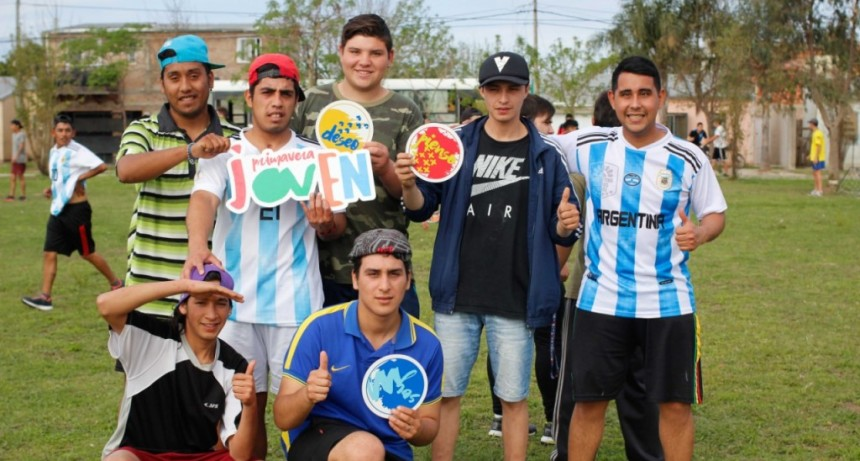 Primavera Joven: las Escuelas de Trabajo se integran con actividades deportivas