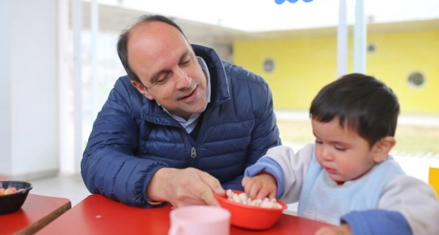 En los Jardines Municipales se estimula a los chicos a prácticas de alimentación saludable