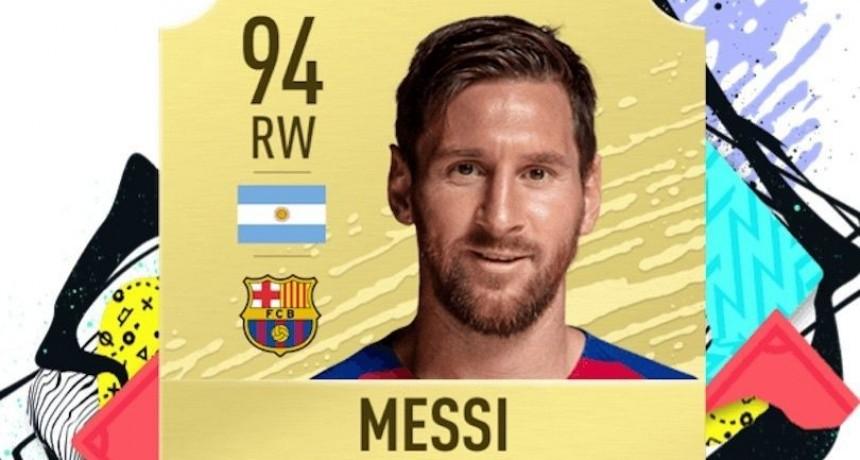 Messi es el mejor jugador del mundo en FIFA 20