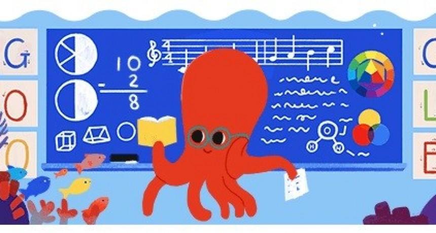 Google se sumó al homenaje por el Día del Maestro