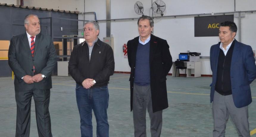 Se inauguró una nueva planta logística que el Correo Oficial de la República Argentina instaló en Santo Tomé.