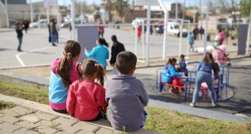 Corral inauguró la plazoleta Nelson Mandela en Barranquitas Sur