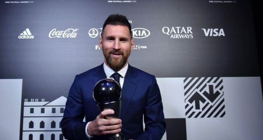 Messi ganó el FIFA The Best