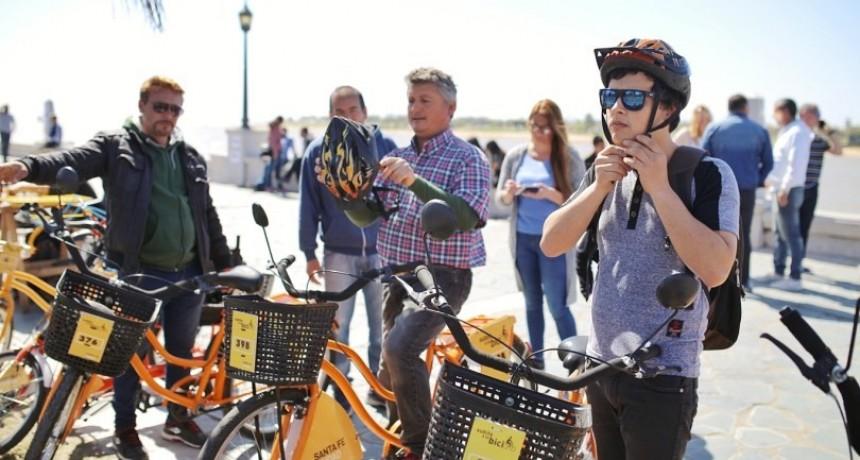 Santa Fe celebró el Día Mundial Sin Auto