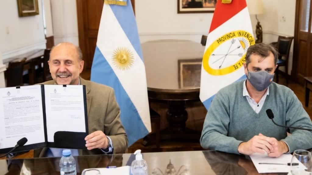 Santa Fe y Nación trabajan en la formalización de los trabajadores de la economía popular