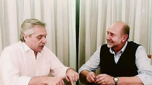 Fernández habló con Perotti sobre un plan de seguridad para Santa Fe