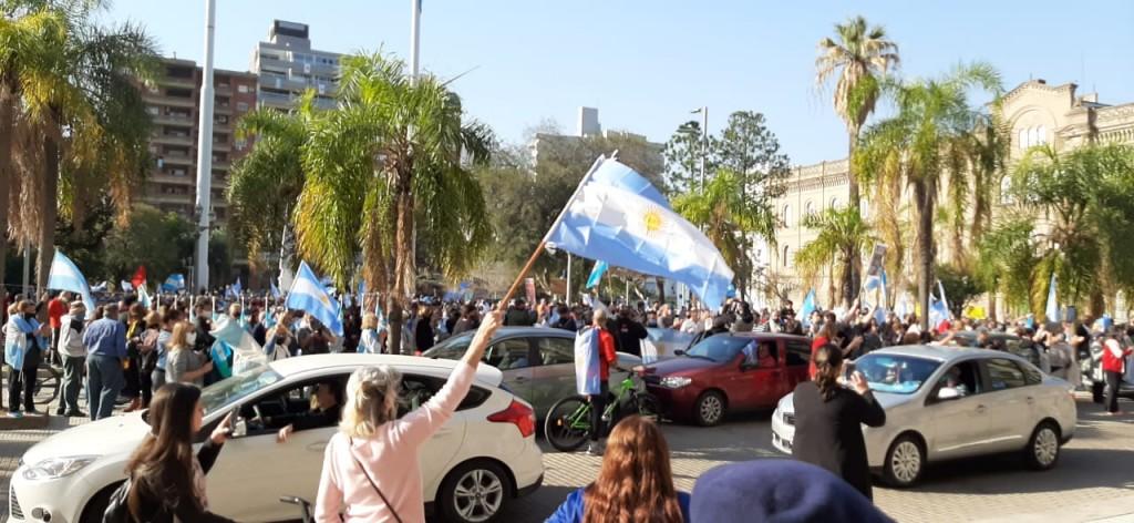 Nueva movilización contra el Gobierno nacional