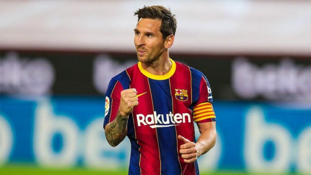 Barcelona le ganó 4-0 al Villerreal con un gol de Messi y un doblete de Ansu Fati