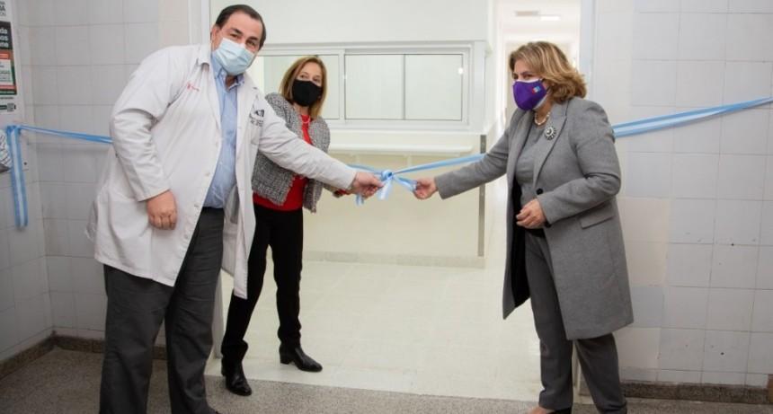 Se inauguró el Área de Cardiología del Hospital Cullen