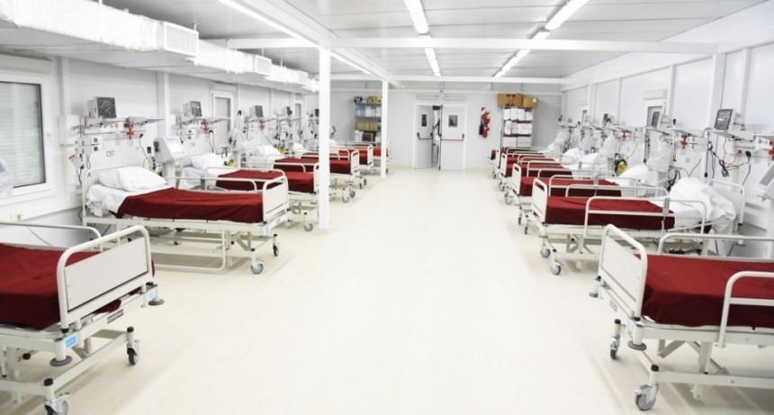 Coronavirus: 19 nuevas camas en el Hospital Modular de Granadero Baigorria