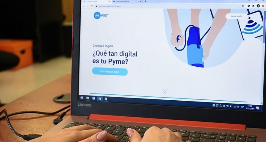 La UNL ofrece a las pymes una plataforma de diagnóstico digital