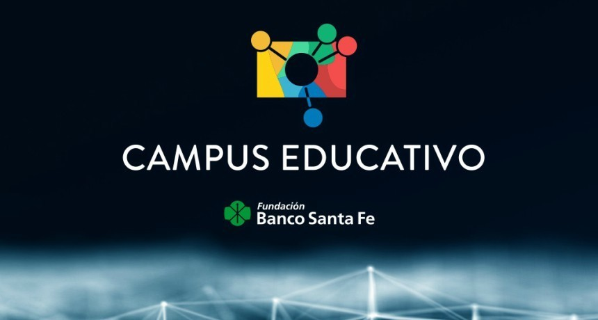La Fundación Banco Santa Fe presentó su Campus Educativo para la formación docente