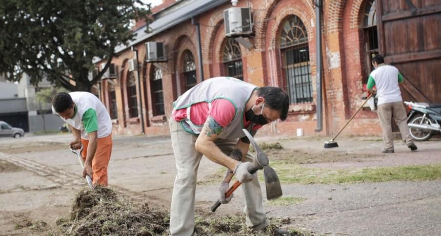 Comenzaron las tareas de recuperación del Predio Ferial Municipal