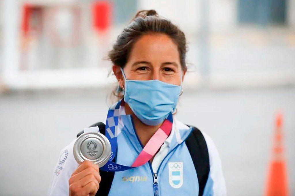 Le robaron la medalla olímpica a una Leona y pide ayuda