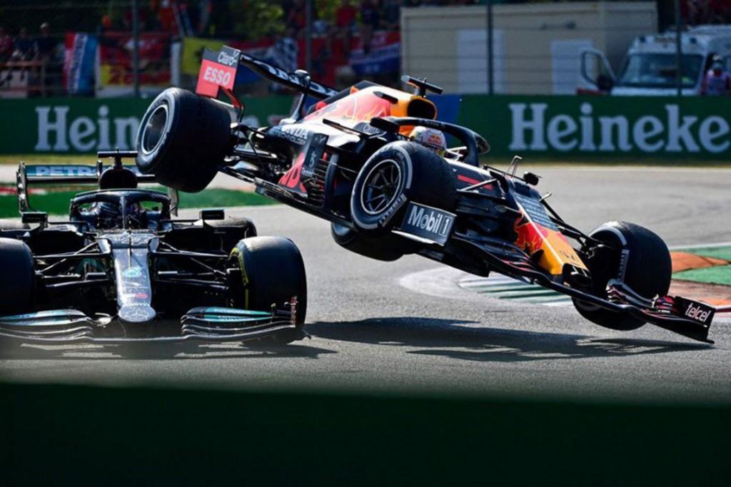 Fórmula 1: tras un choque entre Verstappen y Hamilton, Ricciardo se quedó con el GP de Italia