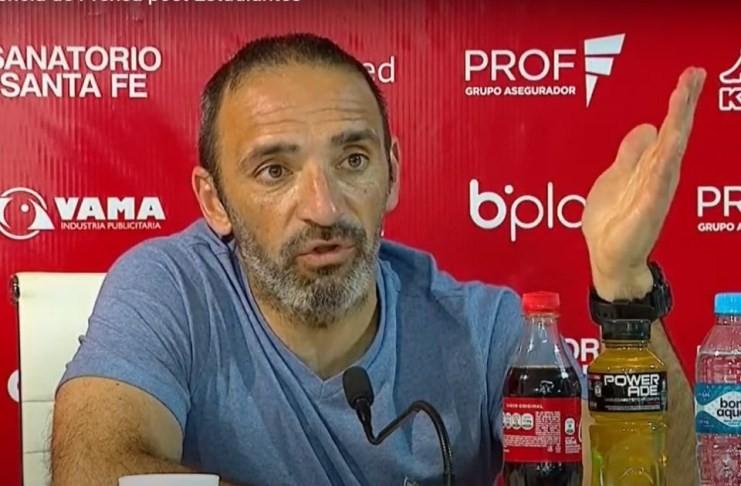 Juan Manuel Azconzábal: No me gustó el partido que hicimos