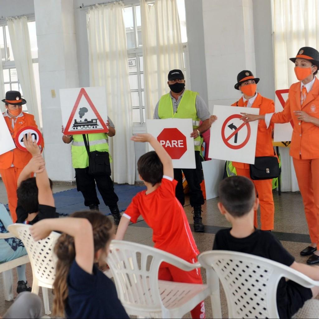 Educación vial infantil: el municipio realiza charlas en clubes locales