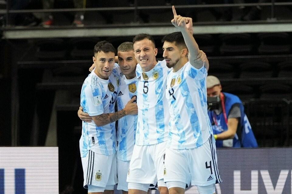 ¡Argentina finalista del Mundial de Futsal!