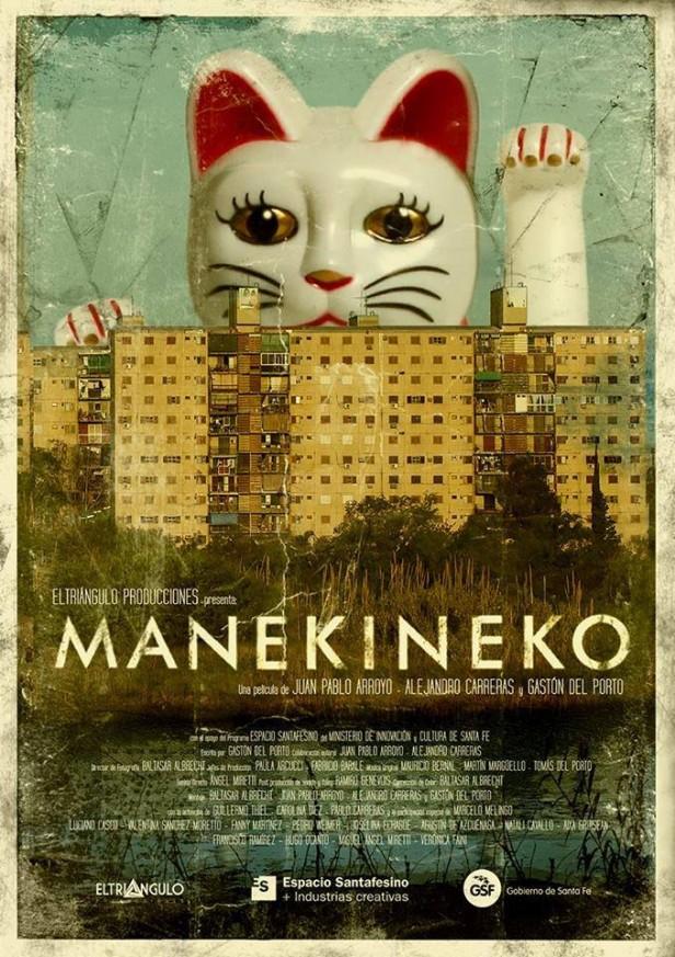 Nuevo estreno de Espacio Santafesino: se proyectará Manekineko en el Cine América
