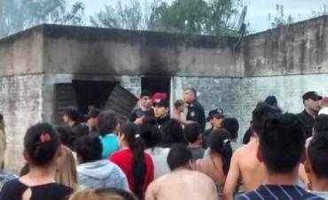 Incendio fatal en Barrio Barranquitas