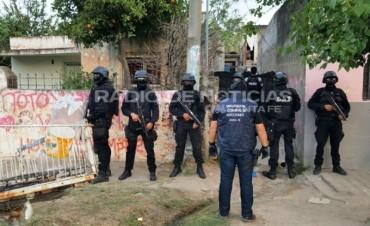 Secuestraron marihuana y cocaína en los barrios Villa del Parque y San Lorenzo