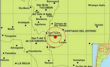 Se registraron dos sismos en Santiago del Estero